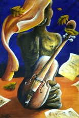 School of Music - Acrylic on Canvas (Private Collection)