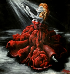 Primadonna - Acrylic on Canvas (Private Collection)