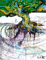Yggdrasil #2 - Digital Prints Available