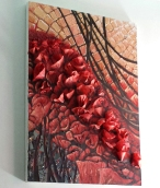 Poppyfield #4 - Mixed Media on Canvas (Inquire for more details)