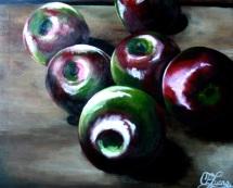 Birth of Autumn - Acrylic on Canvas - SOLD (Easton, PA)