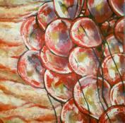 Crimson Catastrophic - Album Cover Art- Mixed Media on Canvas - SOLD (Toronto, Canada)