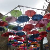 Umbrella Art Installation, London, UK