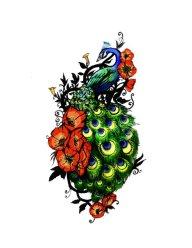 Peacock Tattoo #1