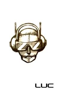 Robo DJ Warrior Tattoo