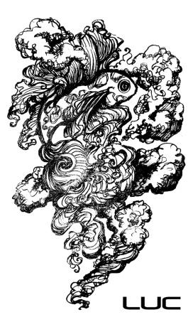Ghost Koi Tattoo