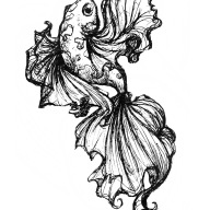 Flying Koi Tattoo
