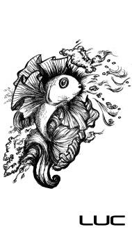Leaping Fish Tattoo