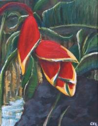 Crab Claw - Acrylic on Canvas - SOLD (United Kingdom)