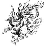 Koi Fish Tattoo #2