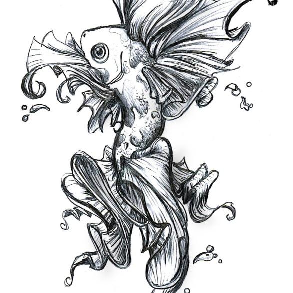 Koi Fish Tattoo #1