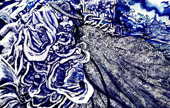 Blue China #3