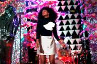 Solange Performs at Armory Show Opening Night Party