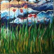 Panel 1 - Spring Sunrise -SOLD (Bethlehem, PA)