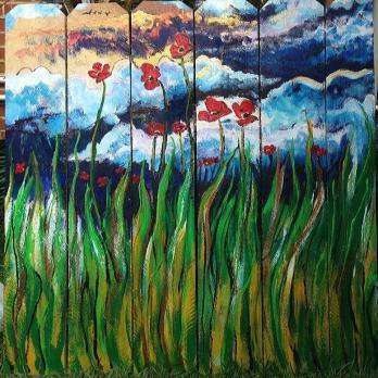 Panel 1 - Spring Sunrise -SOLD (Bethlehem, PA)